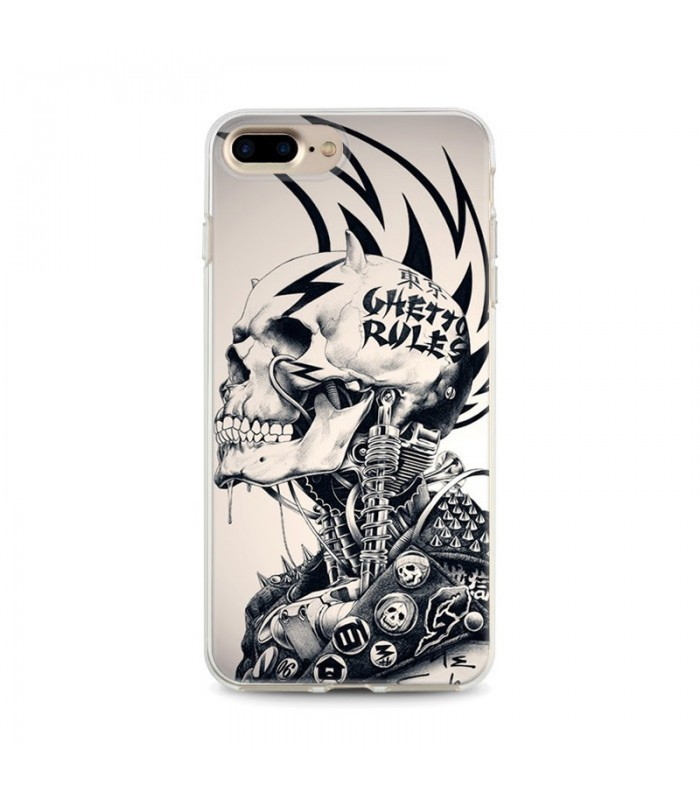coque iphone 8 tete de mort