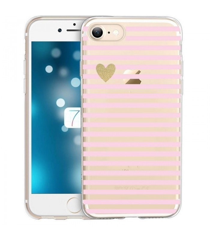 coque rigide transparente iphone 8