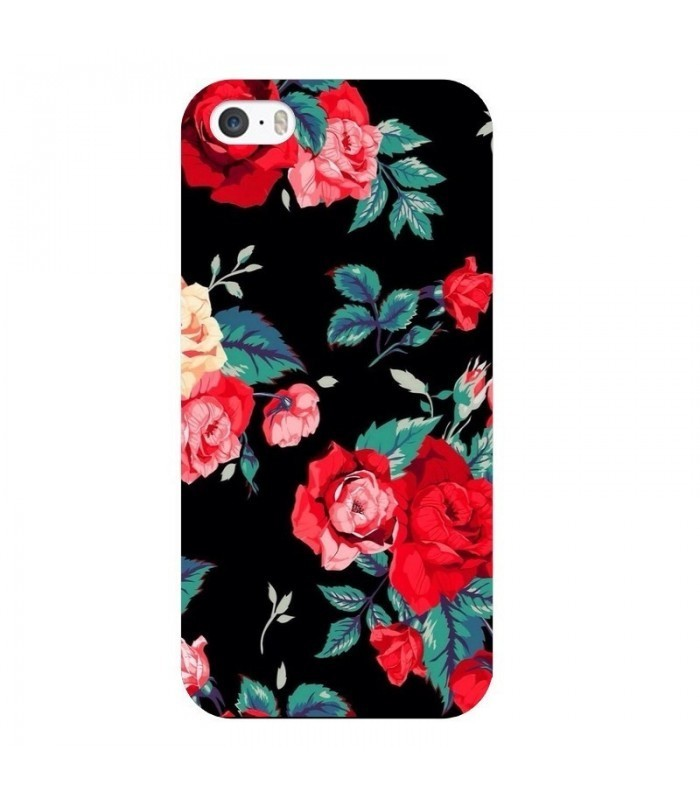 coque fleuri iphone 7