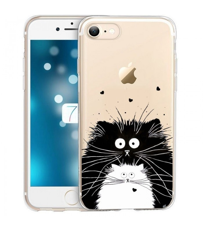 coque blanche iphone 8