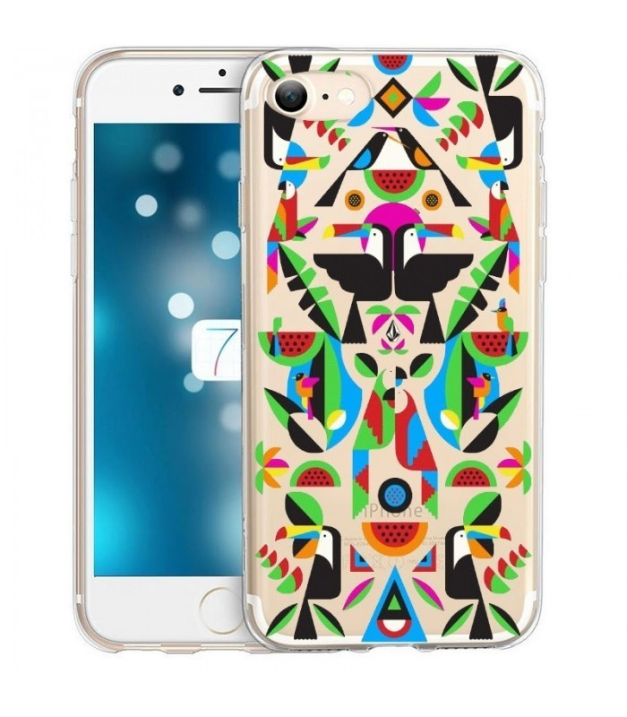 coque iphone 8 geometric