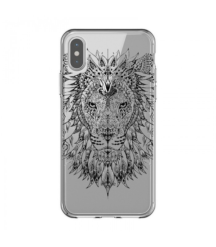 coque lion iphone x