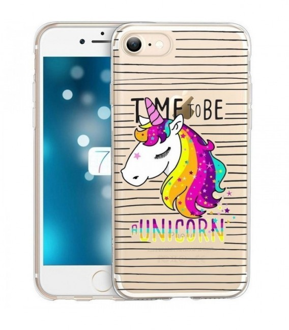 coque iphone 8 rainbow