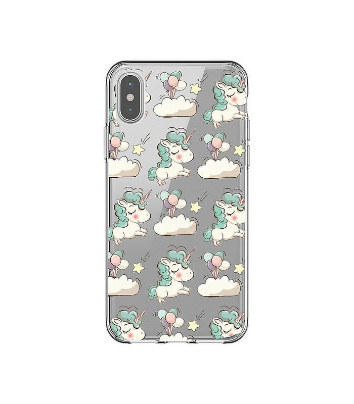 coque iphone xr licorne