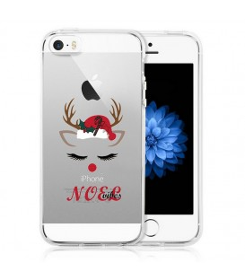 Coque Iphone 5 5S noel vibes renne christmas