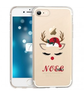 Coque Iphone 6 6S noel vibes renne christmas