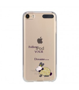 Coque Ipod Touch 5 Touch 6 lapin dream fleur liberty