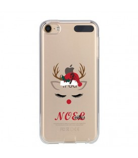 Coque Ipod Touch 5 Touch 6 noel vibes renne christmas