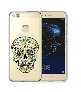 Coque P10 LITE mort mexicaine jungle calavera vert tropical