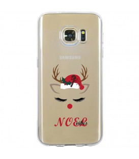 Coque Galaxy S7 EDGE noel vibes renne christmas