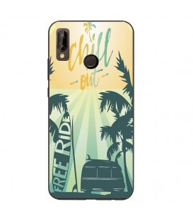 Coque Honor 8X Summer chill surf tropical summer van