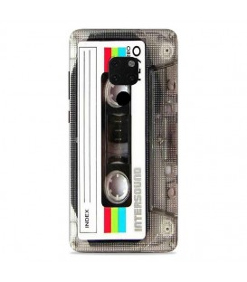 Coque Mate 20 Cassette tape FE90 K7 vintage retro