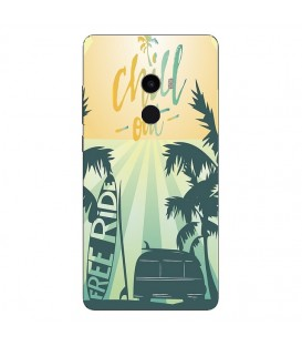 Coque MI MIX 2 Summer chill surf tropical summer van
