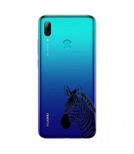 Coque P Smart 2019 zebre wild jungle raye transparente