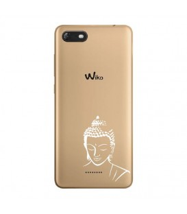 Coque Harry 2 bouddha blanc transparente