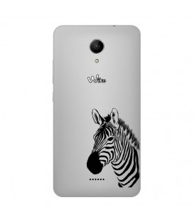 Coque Harry 2 zebre wild jungle raye transparente