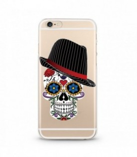 Coque Iphone 6 6S Mort Calavera Hipster Mexicaine Chapeau