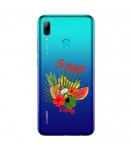 Coque P SMART Z summer vibes exotique fleur transparente