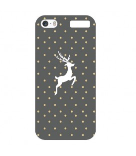 Coque Ipod touch 5 touch 6 renne chic pois polka dot