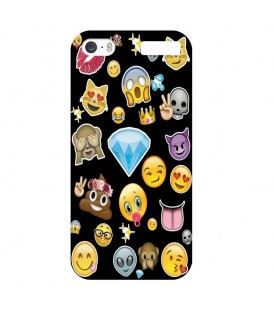 Coque Ipod touch 5 touch 6 emojii multi smiley emoticone