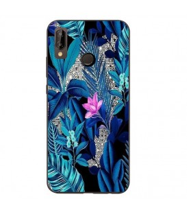 Coque Redmi 7 tropical fleur rose exotique