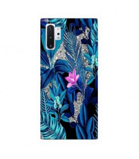Coque Galaxy NOTE 10 tropical fleur rose exotique