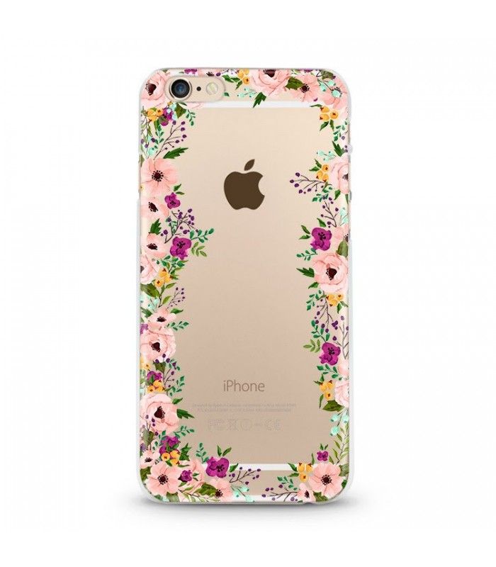 coque transparente iphone 6 rose
