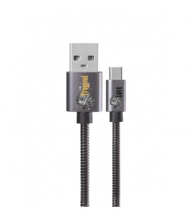 Cable micro USB gris tropical love