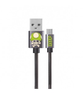 Cable micro USB gris game over geek