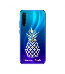 Coque Redmi NOTE 8 ananas aztec summer tropical exotique transparente