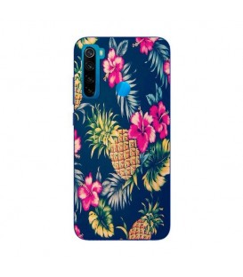 Coque Redmi NOTE 8 Ananas Fleur rose Tropical Exotique hawaii aloha