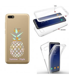 Coque Redmi 7A integrale ananas aztec summer tropical exotique transparente
