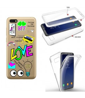 Coque Redmi 7A integrale BAE love tag BFF best friends transparente
