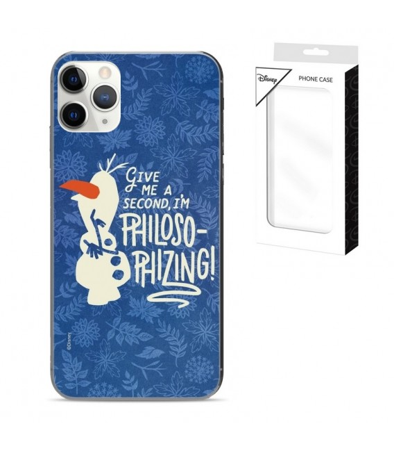 Coque Iphone 11 PRO MAX Olaf philosophizing frozen reine des neiges