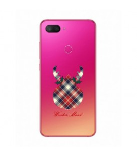 Coque MI 8 LITE winter mood tartan