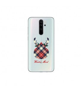 Coque Redmi NOTE 8 RO winter mood tartan