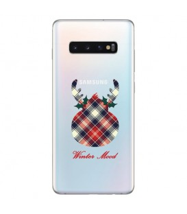 Coque S10 winter mood tartan