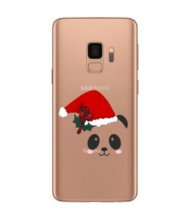 Coque Galaxy S9 panda noel