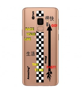 Coque Galaxy S9 team race