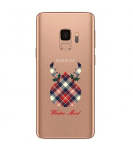 Coque Galaxy S9 PLUS winter mood tartan