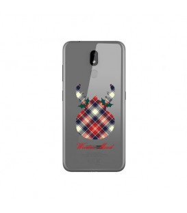 Coque Nokia 3.2 winter mood tartan