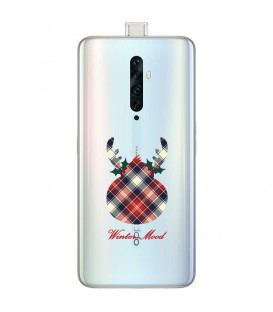 Coque OPPO RENO 2Z winter mood tartan