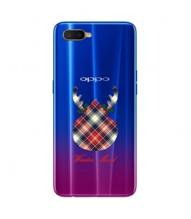 Coque OPPO RX17 NEO winter mood tartan