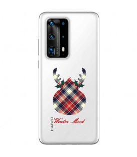 Coque P40 PRO winter mood tartan