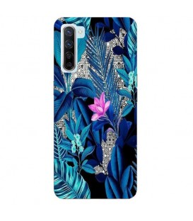 Coque OPPO Find X2 LITE tropical fleur rose exotique