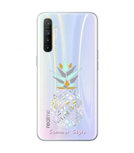 Coque Realme X50 PRO ananas aztec tropical exotique transparente