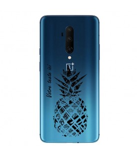 Coque ONEPLUS 8 ananas noir personnalisee
