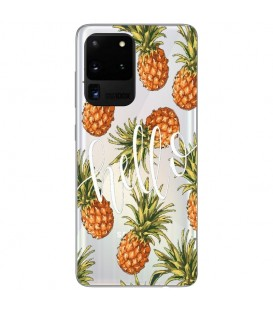 Coque Galaxy NOTE 20 Ananas hello tropical Exotique