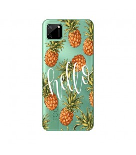 Coque REALME C11 Ananas hello tropical Exotique