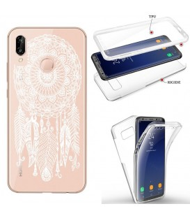 Coque Y6P integrale dreamcatcher blanc transparente